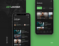 GetJacked Workout App