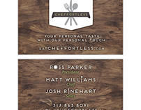 Catering Business Card 3-in-1