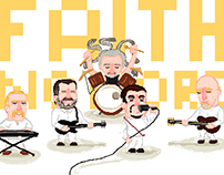 Faith No More Pixelart