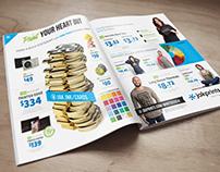 Jakprints Ad Design: JUXTAPOZ MAGAZINE
