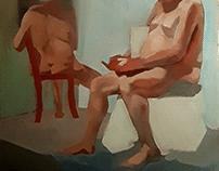 Figure Oil Paintings