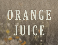 traditional natural orange juice