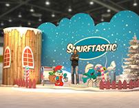 Smurftastic Photo corner - White Christmas Theme