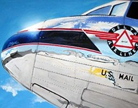 Aeroplan - painting