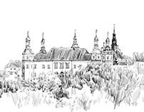 Tablet drawings of Kielce