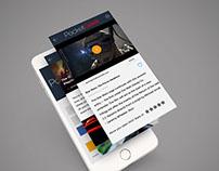 PocketGeek - Mobile App Design