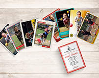 AAF Utah Kickball Tournament Trading Card Invite