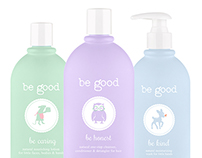 Be Good Branding, Website and Packaging Design