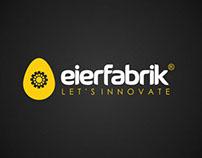 Identidade Visual Eierfabrik