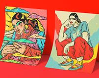 Femininity & Visual Culture   Illustration Series