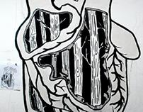 """Mural """"Crisis"""""""