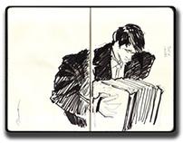 Los Tangueteros Sketches