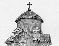 Armenian Karmravor Church