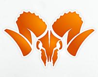Pure Feral Bones logo design