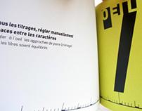 Les Dix Commandements Typographiques