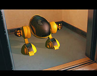 Robby the Robot - CGI/VFX Short