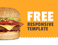 Yummy... — free responsive landing page template