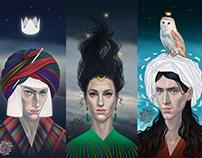 Heroes of Arabian fairy tales