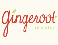 Gingeroot Jewelry Branding