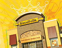 In-House Corporate Branding - Biscuitville
