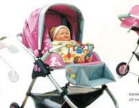 Baby Stroller- Mushy