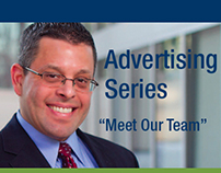 """Meet Financial Services Team"" Advertising Series"