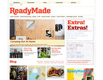 Readymade.com weekly blog sweepstakes