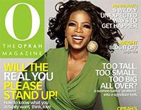 O, The Oprah Magazine + O at Home   Wachovia booklet
