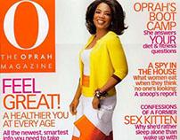 O, The Oprah Magazine   Fiber One advertorial