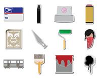 Vandalism Icons