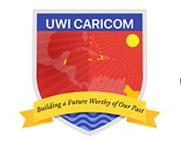 UWI CARICOM Crest Redesign