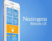 Neutrogena® Towelettes website UX optimization