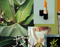 JUNGLE BLEACH || SS2013 mood board