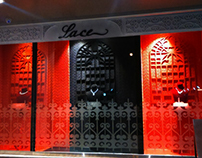 ZOYA, The lace collection show window at khar , Mumbai