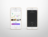 shopping&payment app: prototype design