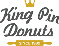 King Pin Donuts Identity Design