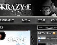 Krazy-E Website