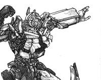 Transformer Fan Art
