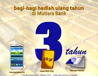 Bumper ATM 3rd Year Anniversary Mutiara Bank