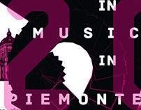 Crescendo in musica in Piemonte Identity (Italy)