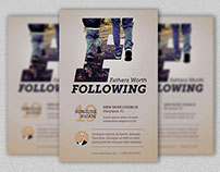 Fathers Worth Flyer and Poster Template