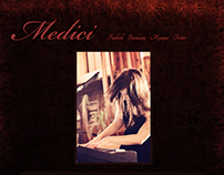 Web Design - Medici (2012)