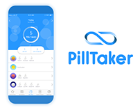 PillTaker mobile app