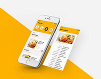 Food Recipe App UI