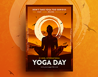 Yoga and Meditation poster / flyers