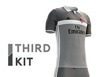 AC. Milan football kit 16/17.
