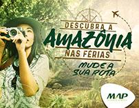 Campanha | MAP - Descubra a Amazônia nas Férias