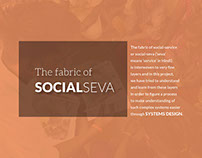 The Fabric of Social Seva - A systems design project