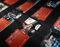 """""""Estamos llenos de PUNTOS"""" · Print Ad campaign"""