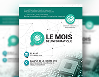 Event Kit For 'Salon de l'informatique'